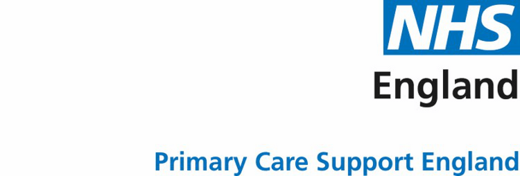 Primary Care Support England
